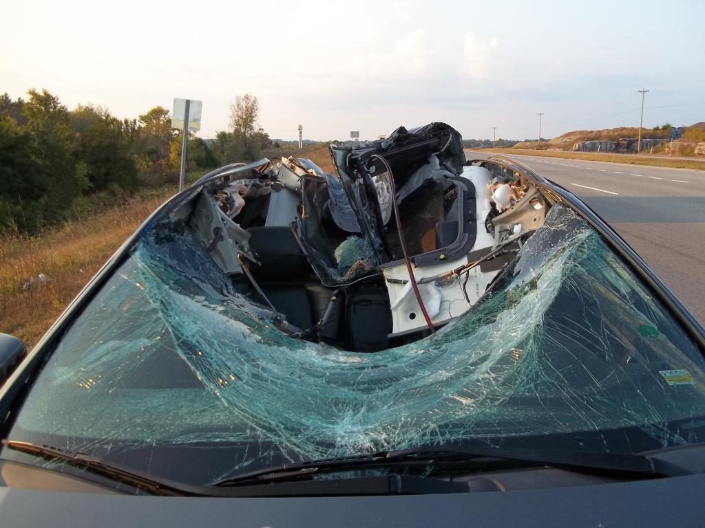 Vehicle Struck by Wheel 2
