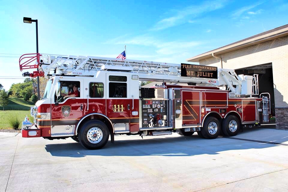 Ladder 111 at Station One