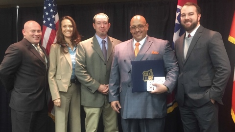 Deputy Chief Mullins, Cpl. Detective Harris, Sgt. Detective Riddle, Cpl. Detective Schneider, and Cpl. Detective Cothron