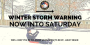 Mt. Juliet Public Safety and Public Works Focused on Approaching Winter Storm; Police Offer SafetyTips