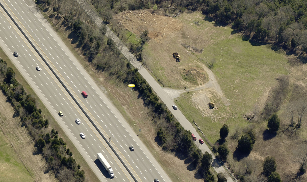 Area Where Truck Was Located