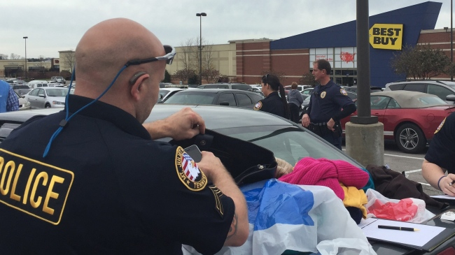 Undercover Officers Engaged in Safe Shopper Enforcement Activity in 2015.